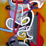 CONCERTO SERIES #1 96 x 72 in