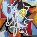 CONCERTO SERIES #3 96 x 72 in